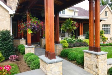 Front Entry & Patio Displays